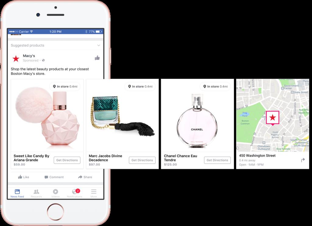 Facebook dinaminė reklama