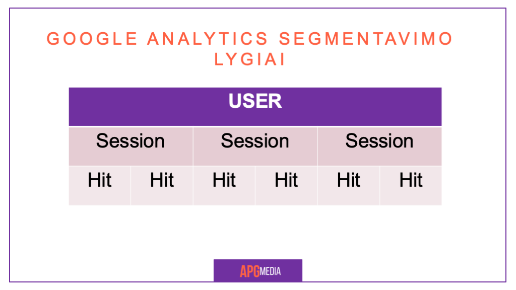 Google Analytics Segmentai 2