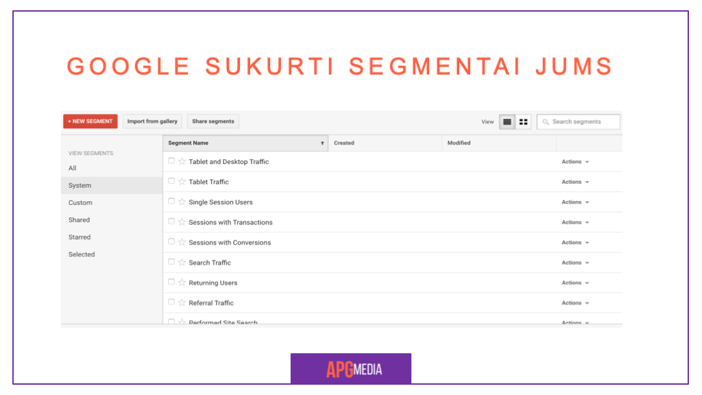 Google Analytics Segmentai 9