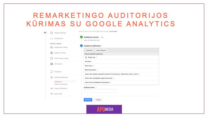 google ads remarketingas, Google Ads remarketingas